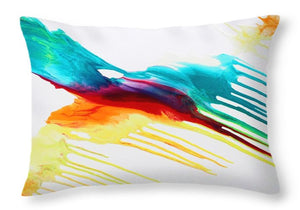 Let Color Inspire - Throw Pillow