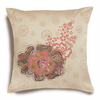 Dimensions Rose Patch Pillow Cover Applique 14 x 14in