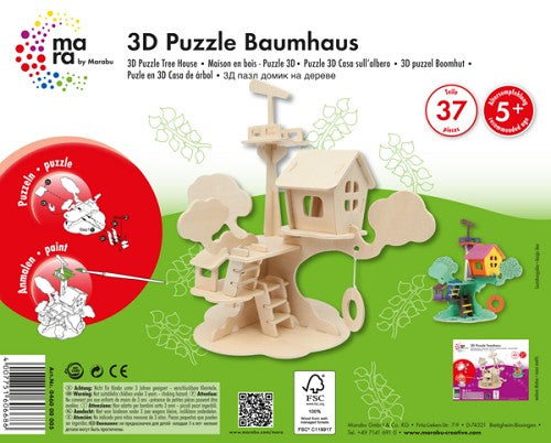 Wooden Construction Kit - Tree House