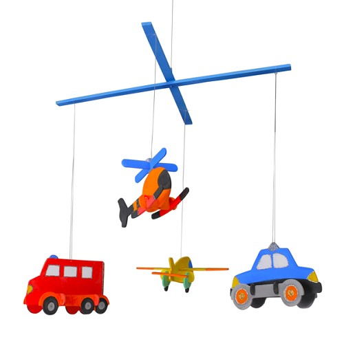 Wooden Construction Kit - Helicopter & Aeroplane