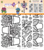 Stick n Color Peel Off Stickers - Flowers & Fairies