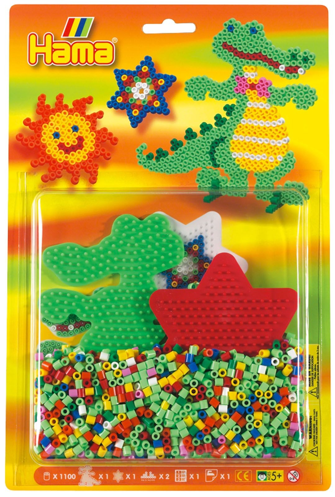 HAMA Crocodile Bead Kit