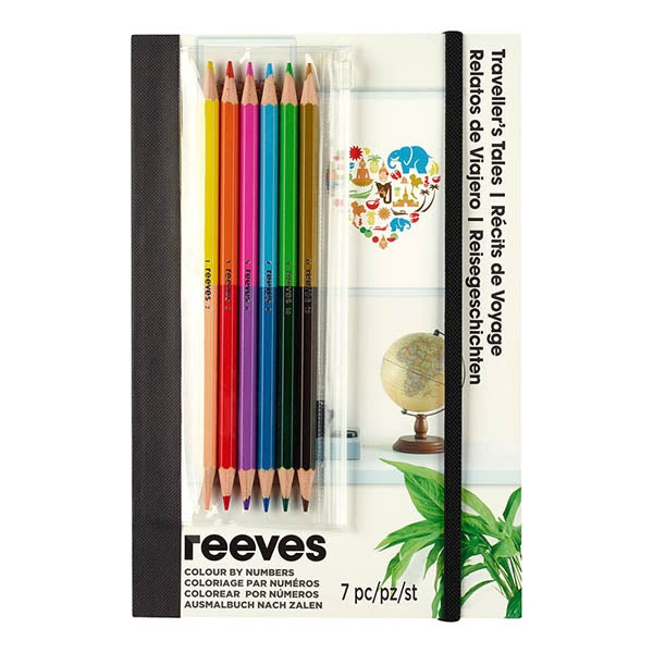 Reeves Colour By Numbers - Travellers Tales