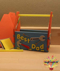3D Foam Kit-simple-Craft Crate UK-Toolbox Desk Tidy-Craft Crate