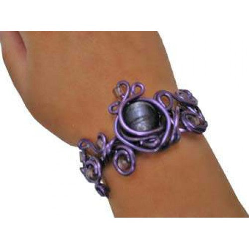 Crea Kit Metal Alu Bracelet Purple