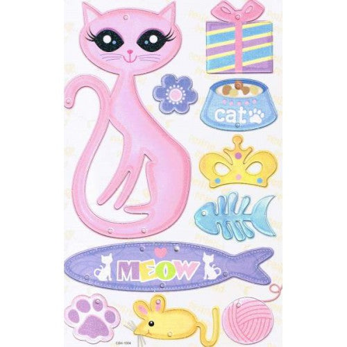 Kitty Chipboard Hanger Kit