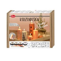 Shining Christmas - Candle Design Kit From Viva Decor