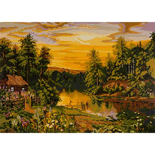 Warm Evening Diamond Painting Kit ALVR-39056