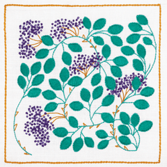 Dee Hardwicke Collection Anchor Embroidery Kit - Hedgerow Berries