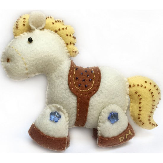 Rocking Horse Felt Decoration