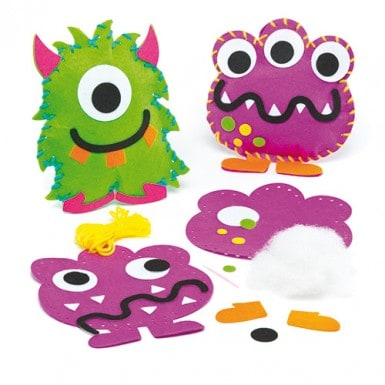 Kids Crate -  Friendly Monsters Option 1      10 Full Kits