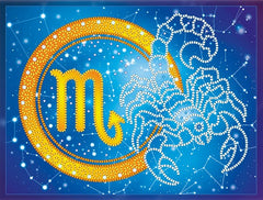 Sign of the Zodiac Bead Embroidery