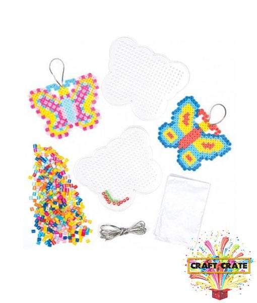 Butterfly Fuse Bead Kit-simple-Craft Crate UK-Craft Crate