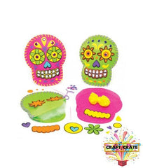 Children's Sewing Kit-simple-Craft Crate UK-Day of the Dead-Craft Crate