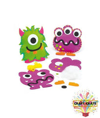 Children's Sewing Kit-simple-Craft Crate UK-Monster-Craft Crate
