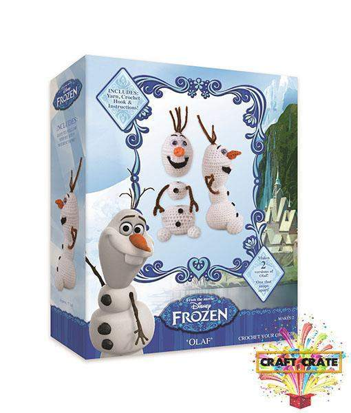Crochet Olaf Kit-simple-Craft Crate UK-Craft Crate