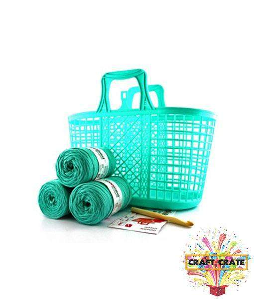 Crochet Shopper Kit-simple-Craft Crate UK-Craft Crate