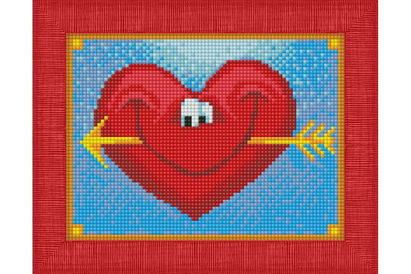 Wizardi Diamond Painting Happy Heart