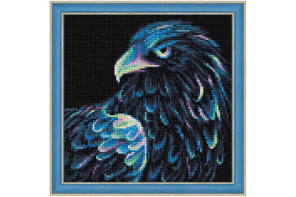 Wizardi Diamond Painting Neon Eagle