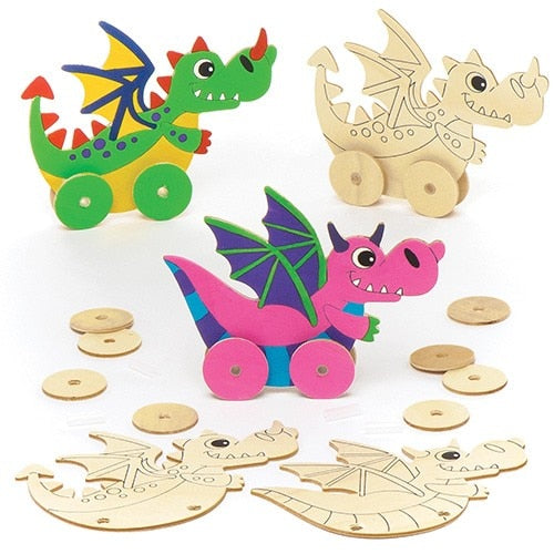 Kids Crate -  Dragons Option 2      3 Full Kits