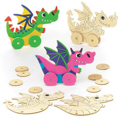 Kids Crate -  Dragons Option 1      4 Full Kits
