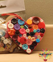 MDF Kit-simple-Craft Crate UK-Heart-Craft Crate