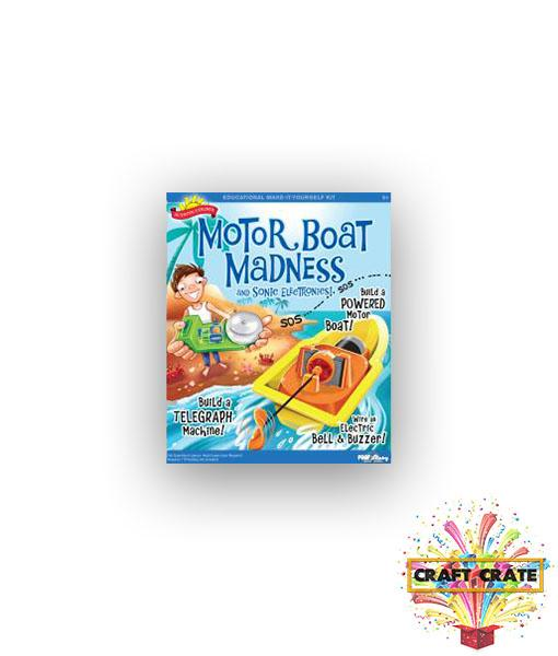 Motor Boat Madness-simple-Craft Crate UK-Craft Crate