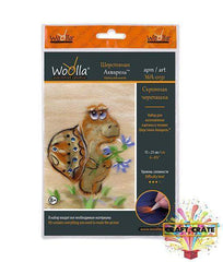 Painting With Wool-simple-Craft Crate UK-Tortoise-Craft Crate