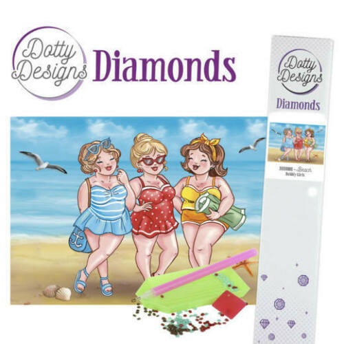Dotty Designs Diamonds - Bubbly Girls - Beach