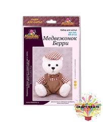 Sewing Kit-simple-Craft Crate UK-Teddy Bear-Craft Crate