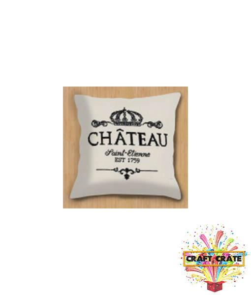 Sewing Kit-simple-Craft Crate UK-Chateau Premium Cushion Cover-Craft Crate