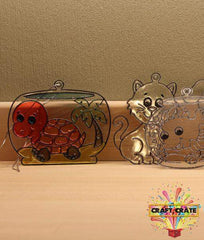 Sun Catchers Kit-simple-Craft Crate UK-Pets-Craft Crate