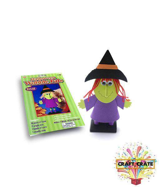 Wobbly Witch-simple-Craft Crate UK-Craft Crate