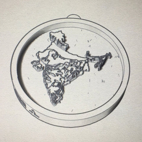 Memento India Pendant Sketch