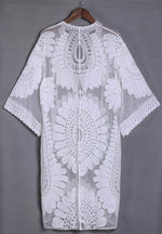 Heavenly Lace Beach Cover-Up-Flashpacker