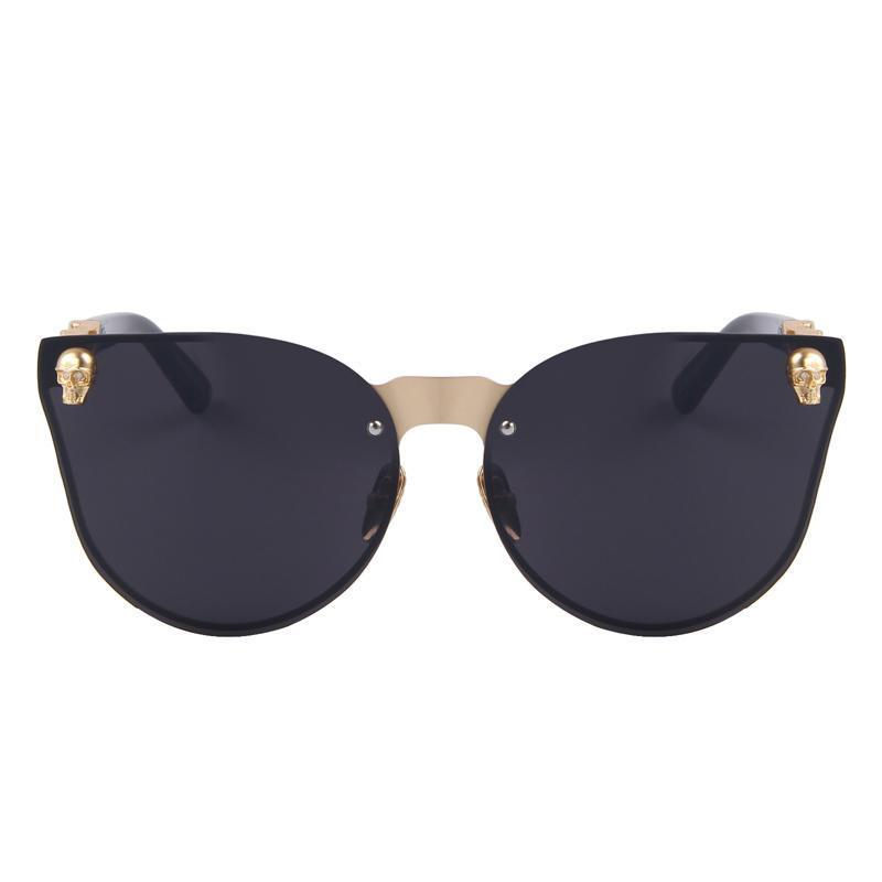 Striking Skull Sunglasses-Flashpacker