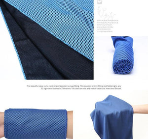 The OMG Ice Cool Towel-Flashpacker
