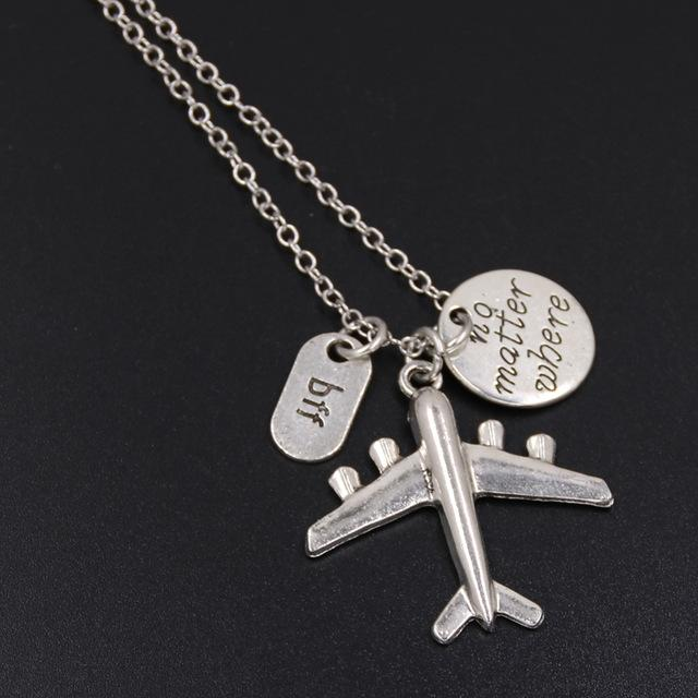 Wanderlust Charm Necklace-Flashpacker
