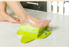 Foot Brush Scrubber Feet Massage - greenbutter