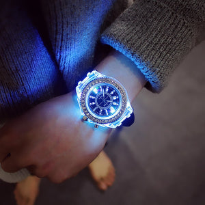 LED Flash Wristwatch