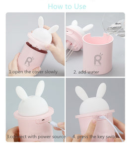 Bunny Air Humidifier Essential Oil Diffuser