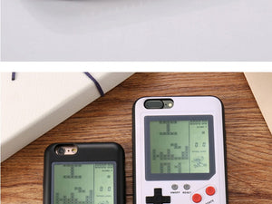 Classic Nostalgia Tetris Game Phone Case