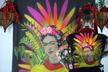Home-wears - Wall Hangings 'FRIDA on Black' Original illustration Waist Pouch from beksies boutique
