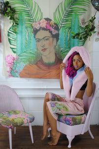 Home-wears - Wall Hangings 'FRIDA on Vanilla' Original illustration Waist Pouch from beksies boutique