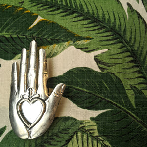 "Mexican Heart Mirror ""Palm"" was £8 now £6"