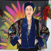 Scarves - 100% Silk Velvet Head Scarf/belt. colour selection Waist Pouch from beksies boutique