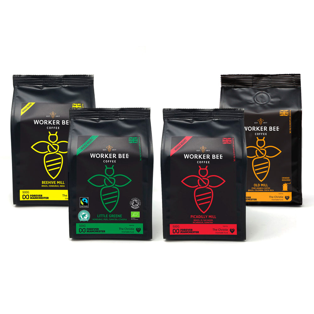 Coffee Bundles - Various selections of Coffees - Worker Bee MCR Tea & Coffee