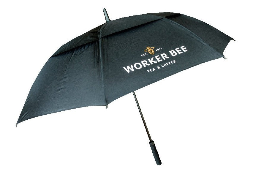 Load image into Gallery viewer, Worker Bee Automatic Golf Umbrella - Worker Bee MCR Tea & Coffee