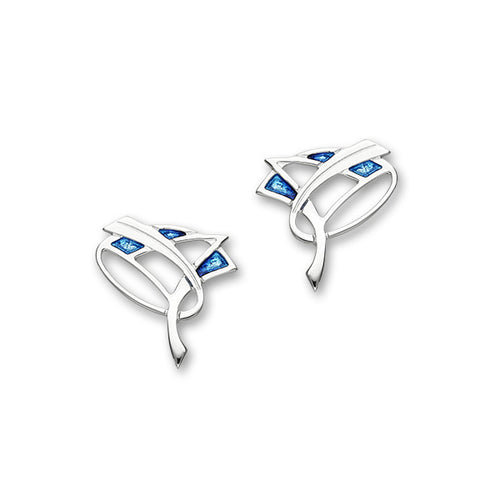 Silver Earrings EE712