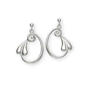 Silver Earrings E257